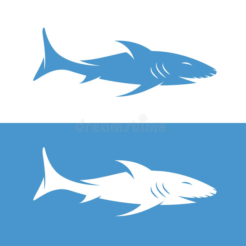 Abstract shark stock vector. Illustration of animated - 72852144
