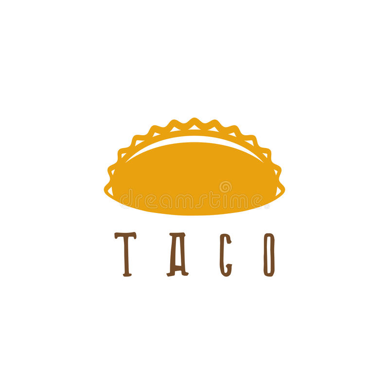 Vector Design Template Of Taco Mexican Stock Vector - Illustration ...