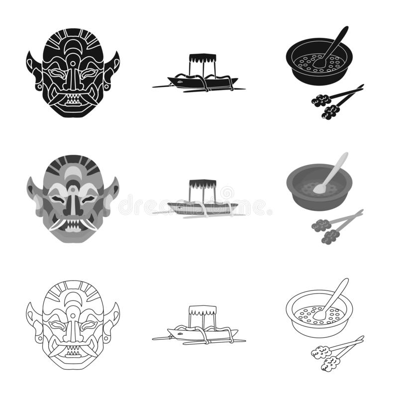 Vector design of and travel icon. Collection of and traditional stock symbol for web. Vector illustration of and travel symbol. Set of and traditional stock stock illustration