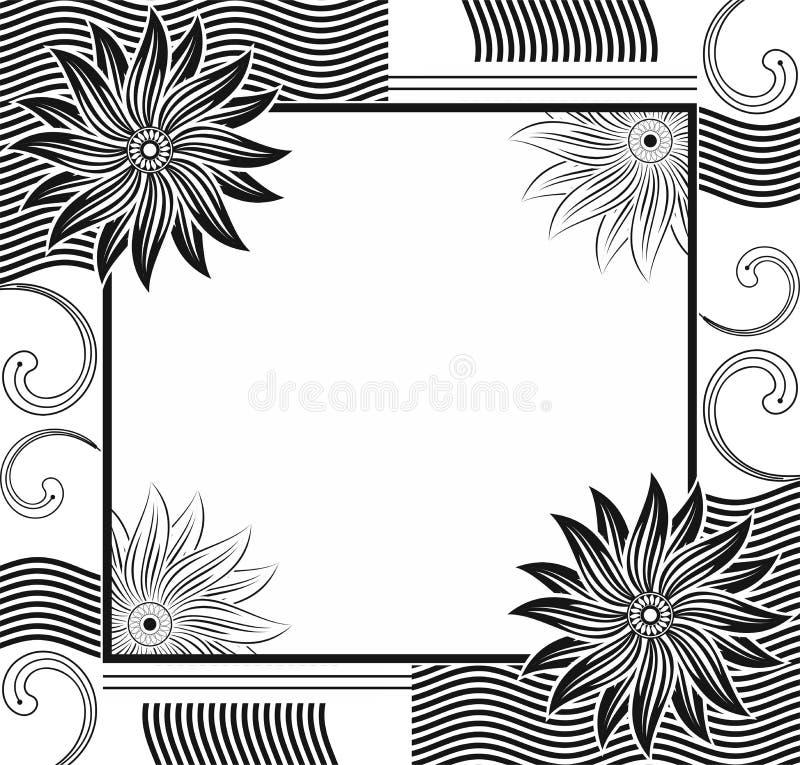 Vector Designer Frame Stock Photography