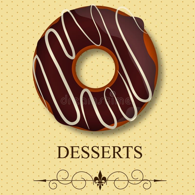 Download Vector dessert menu stock vector. Illustration of cooking - 23909961