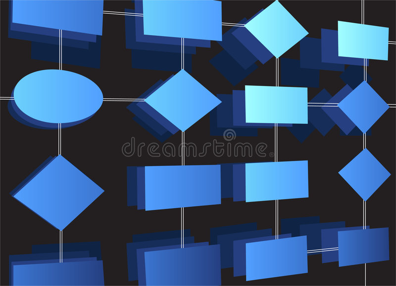 Vector diagram stock illustratie