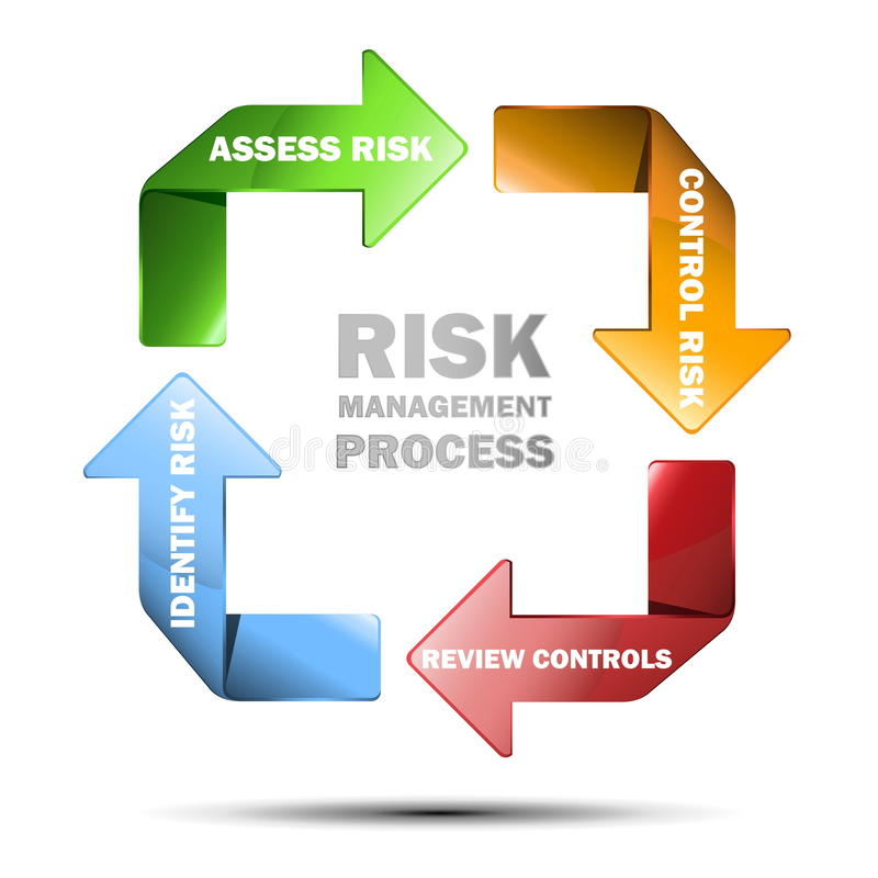 Download Vector Diagram Of Risk Managment Stock Vector - Image: 29273882