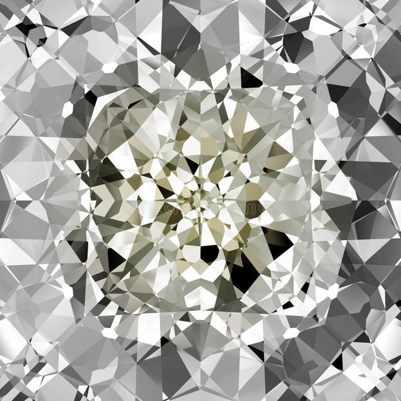 Vector Diamond Background stock illustration