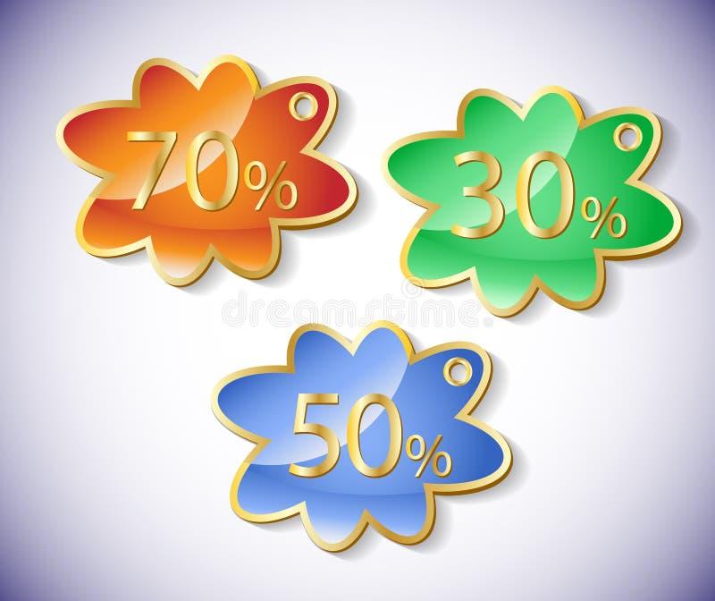 Download Vector Discount Labels Set. Stock Vector - Image: 23653126