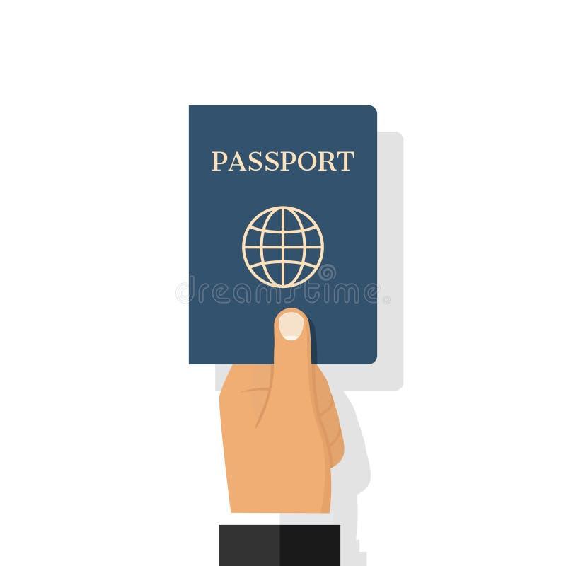 Vector disponible del pasaporte stock de ilustración