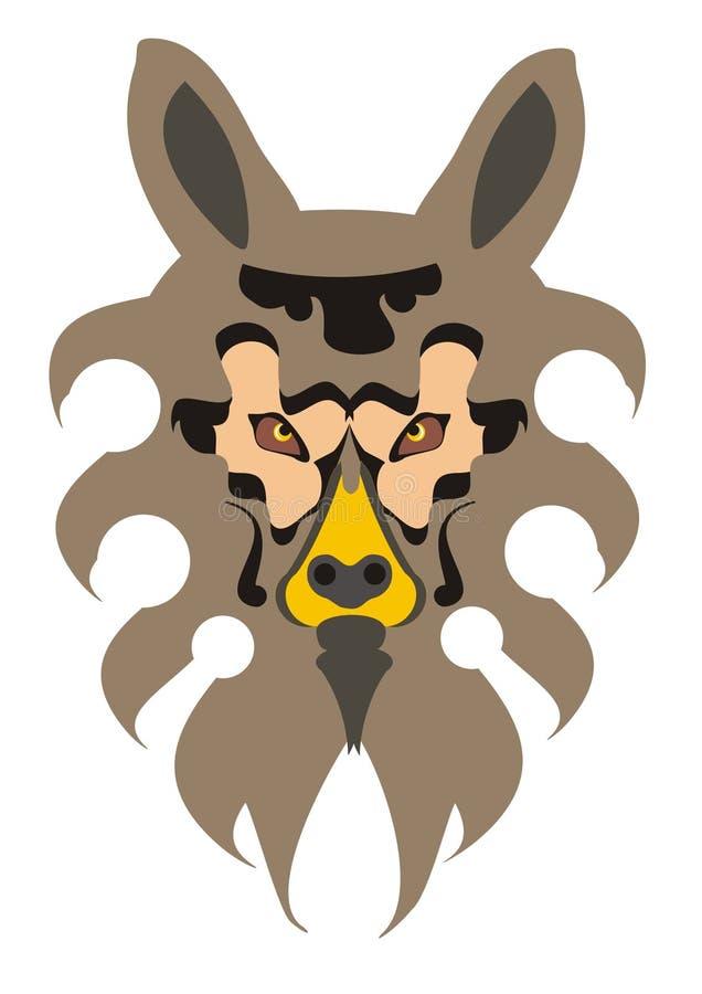 Download Vector dog head stock illustration. Image of mammal, friend - 20744200