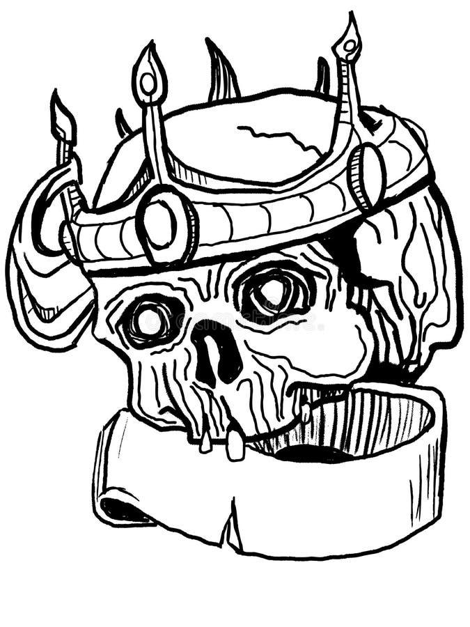 Vector donker art. stock illustratie