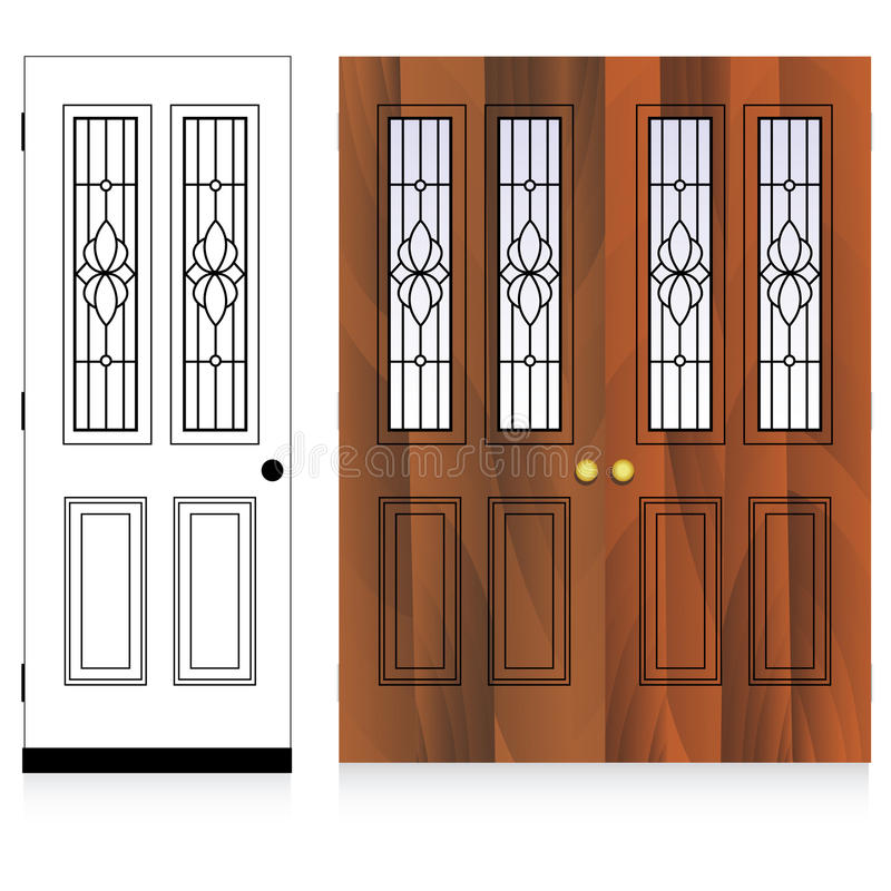 Vector Door Design Stock Photos