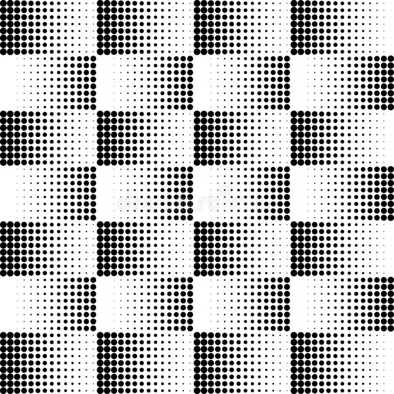 Vector dots halftone. Black dots on white background. texture round. royalty free illustration
