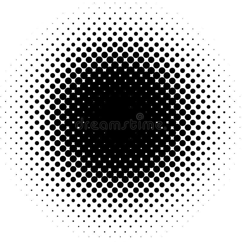 Vector dots pattern royalty free illustration