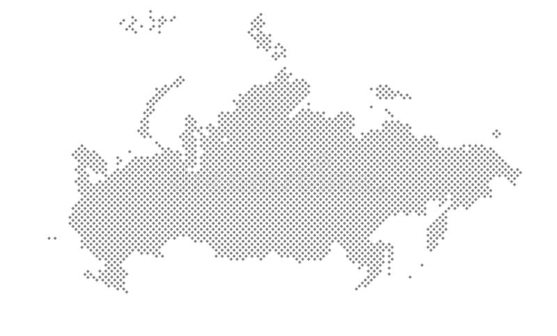 Vector Dotted World Map. A political map of the World. stock photos
