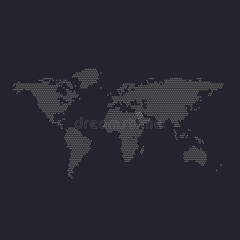Map World Dots Stock Illustrations – 5,271 Map World Dots Stock ...