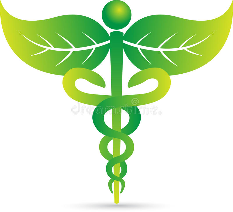 Caduceus royalty free illustration