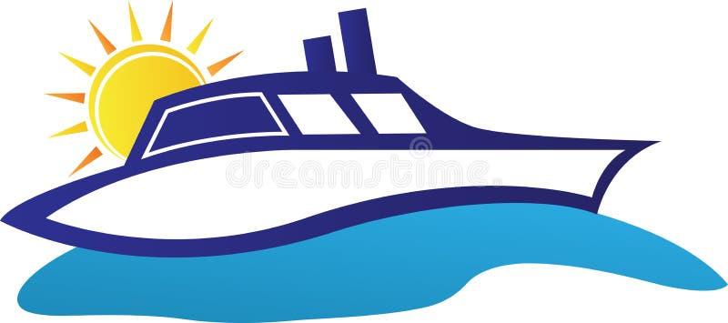 Cruise ship stock illustration