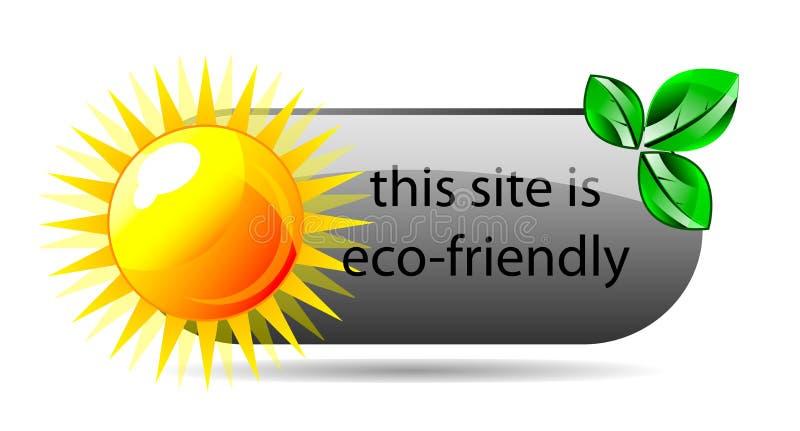 Download Vector Eco Friendly Website Icon Stock Vector - Illustration of friendly, design: 25438391