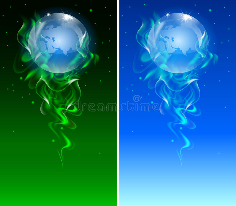 Vector editable abstract background stock illustration