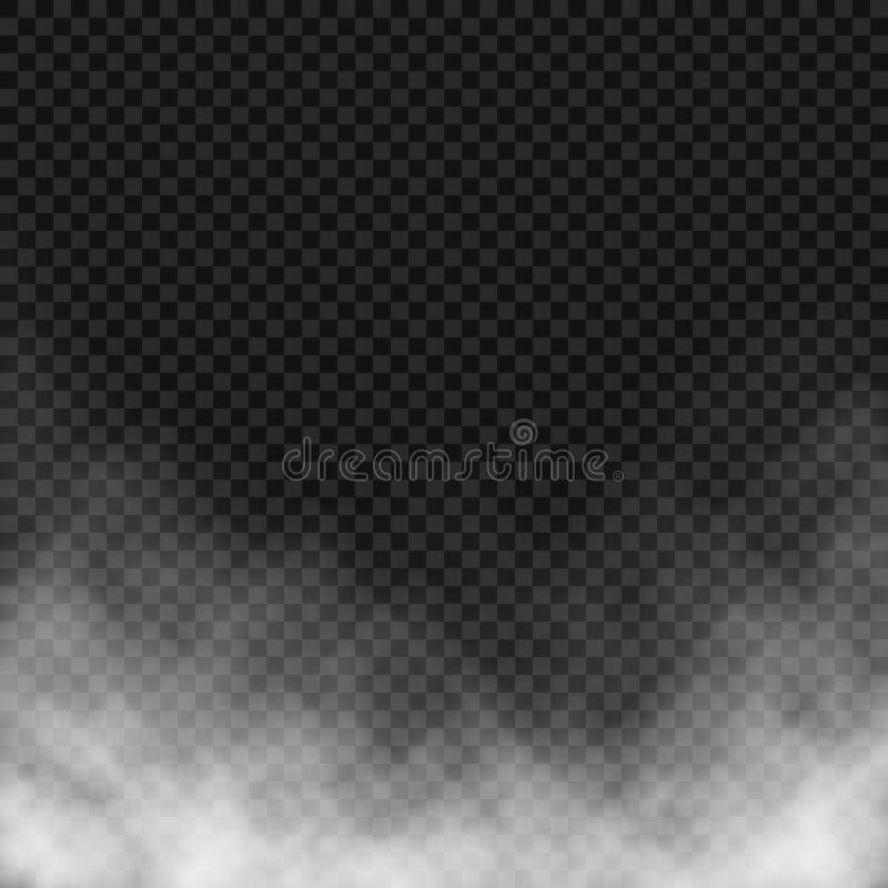 Vector effect of fog or smoke. stock photo