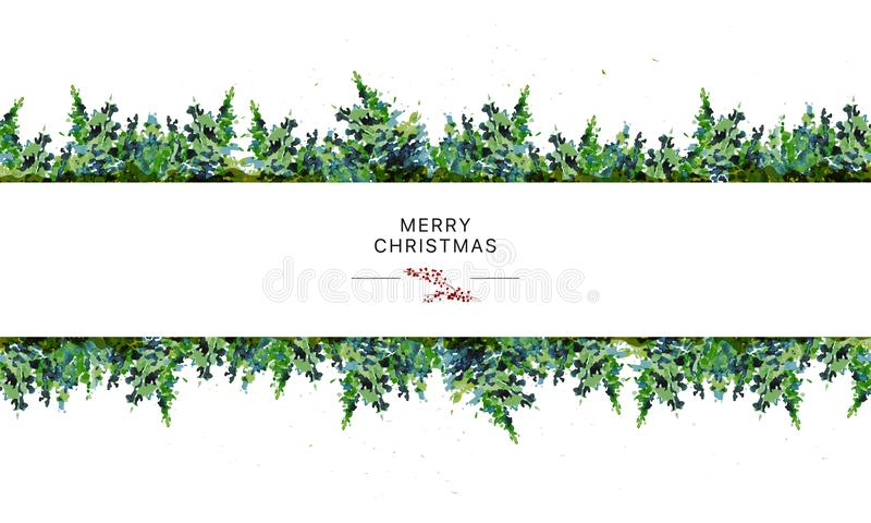 Vector el diseño de paquete inconsútil artístico por Año Nuevo y felices regalos de Navidad y decoración de la materia ilustración del vector