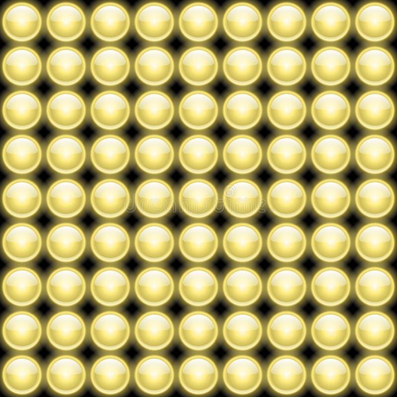 La lámpara enciende Backround abstracto ilustración del vector