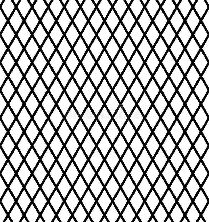 Vector el fondo a cuadros cuadrado blanco y negro diagonal o texturicelo libre illustration