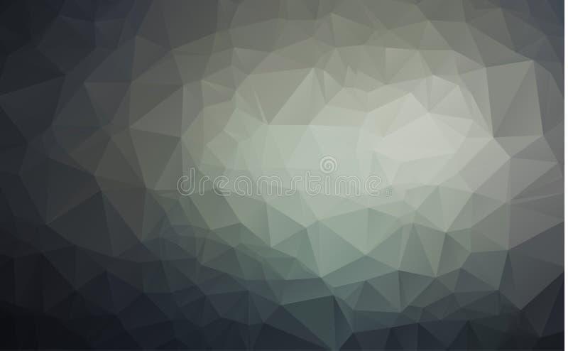 Vector el fondo geométrico poligonal moderno abstracto del triángulo del polígono ilustración del vector