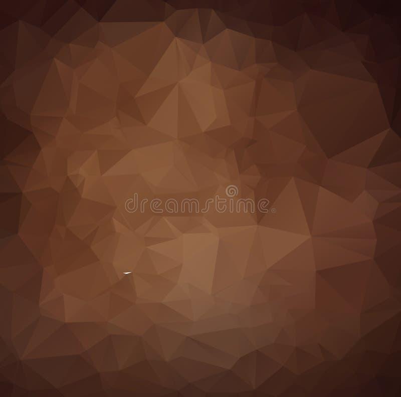 Vector el fondo geométrico poligonal moderno abstracto del triángulo del polígono libre illustration