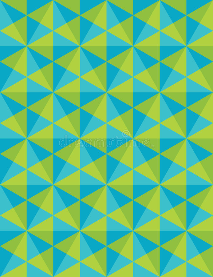 Vector el modelo colorido inconsútil moderno de la geometría, mosaico, coloree el extracto azulverde ilustración del vector