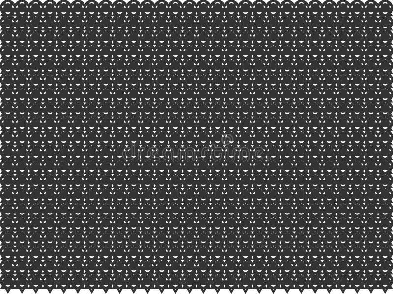 Vector el modelo geométrico inconsútil, color blanco y negro, fondo abstracto stock de ilustración