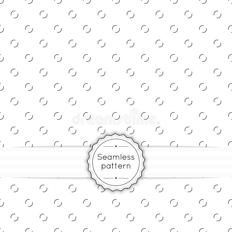 Vector el modelo inconsútil stock de ilustración