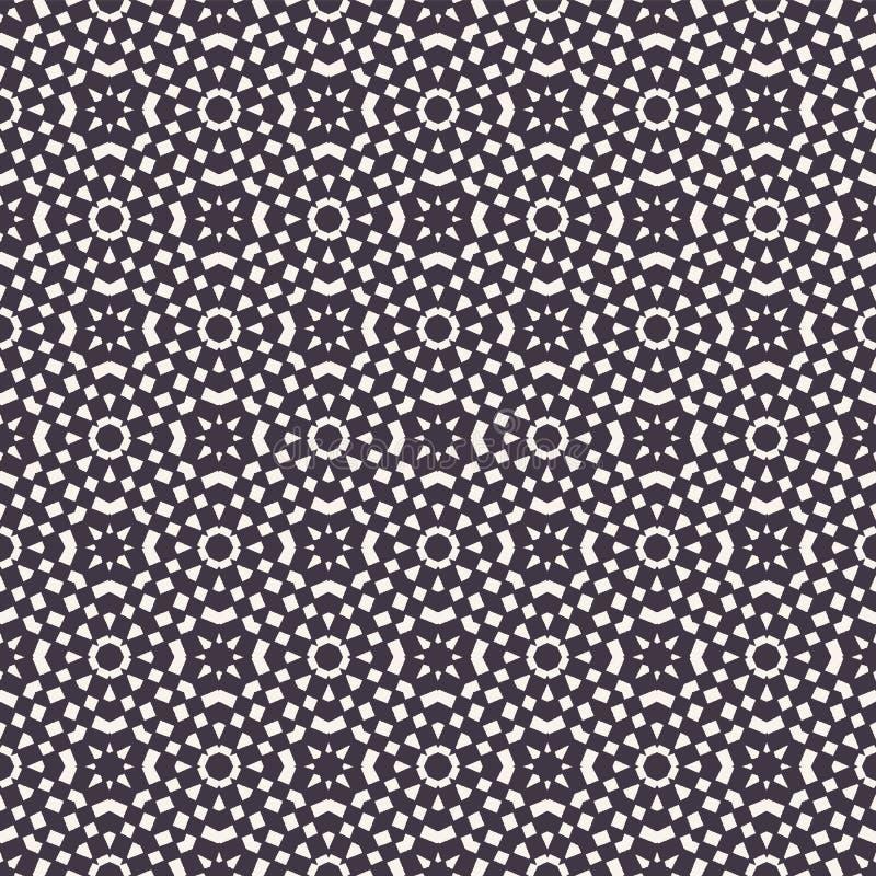 Vector el modelo incons?til Fondo abstracto del tablero de damas del rectángulo Ejemplo exhausto de la textura de la mano monocro libre illustration