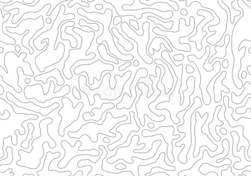 Vector el modelo incons?til Formas orgánicas monocromáticas Fondo abstracto del esquema libre illustration