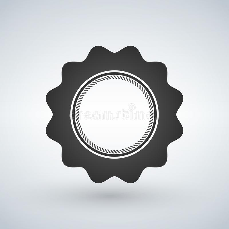 Vector el sello retro, etiqueta engomada, etiqueta, etiqueta, insignia en el fondo blanco libre illustration