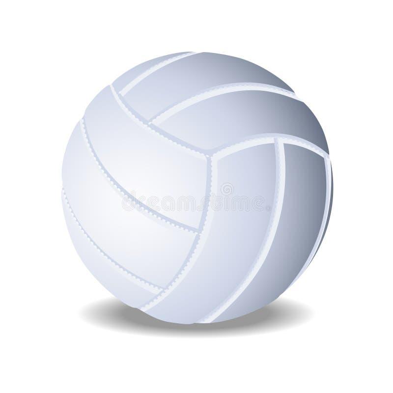 Vector el voleibol ilustración del vector
