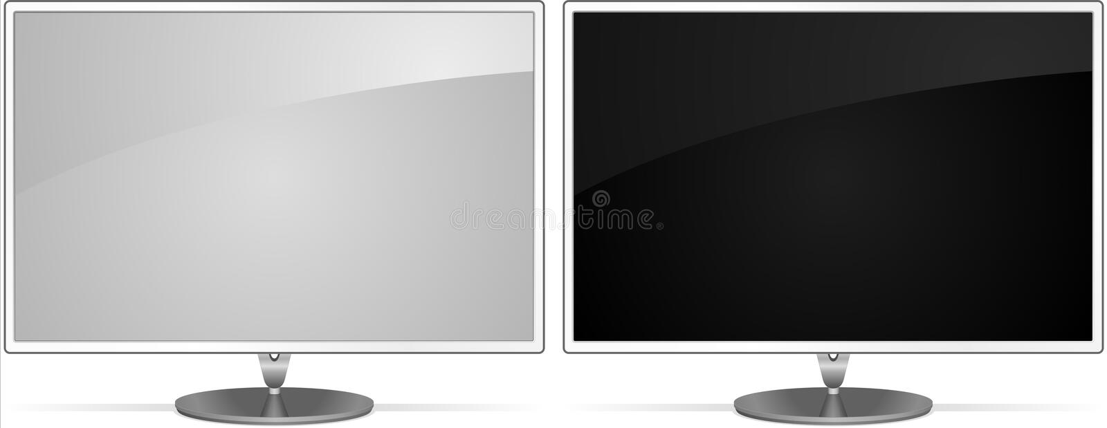 Download Vector elegance monitors stock vector. Image of technology - 7537628