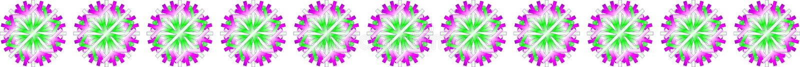 Vector white green purple Christmas stars on translucent background, as a bar, banner, border, etc.,. Vector eleven white green purple Christmas stars on vector illustration