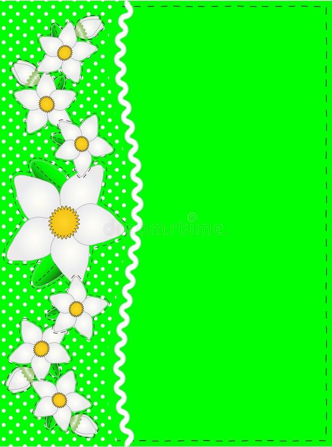 Download Vector Eps 10 Green Copy Space, Polka Dots, Ric Ra Stock Vector - Image: 14888210