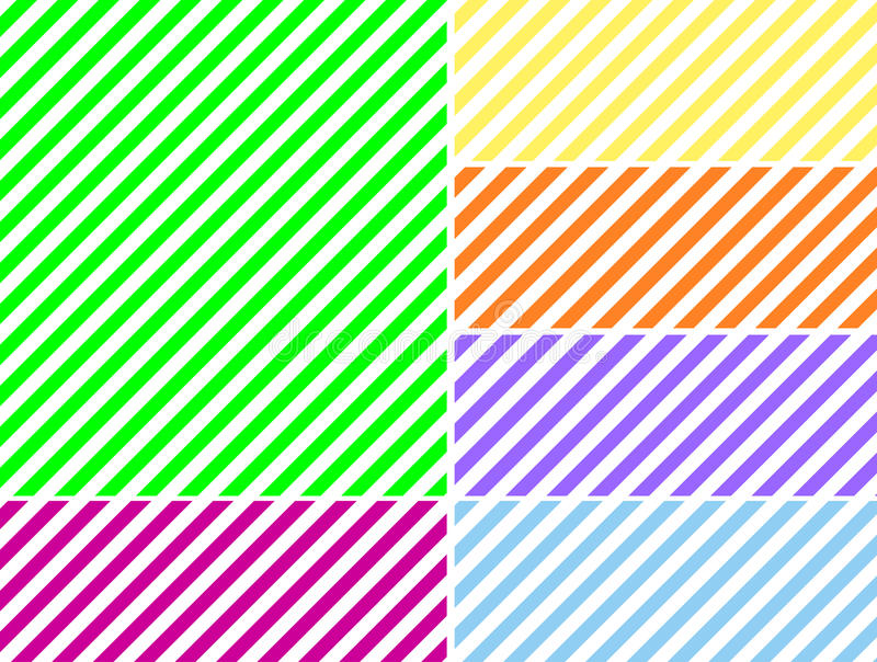 Download Vector EPS8 Diagonal Striped Background In Six Col Stock Vector - Image: 14076798