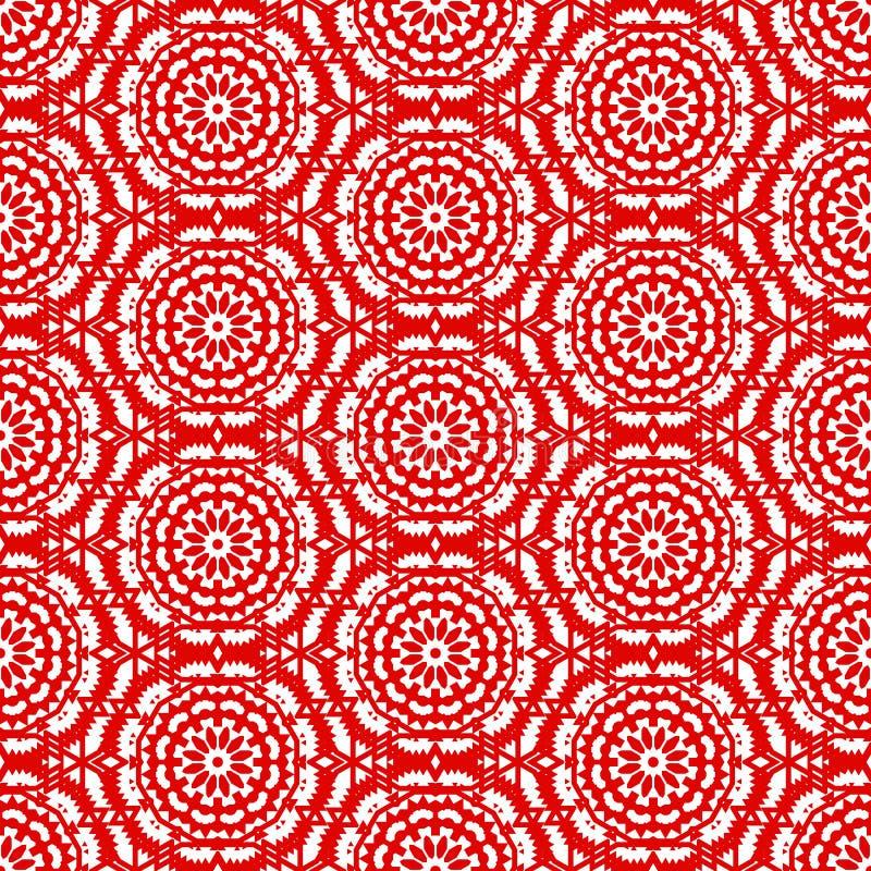 Vector ethnic colorful bohemian pattern vector illustration
