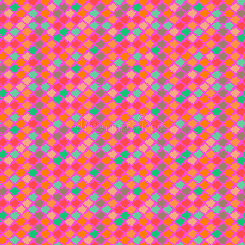 Vector ethnic pattern in bright colors. vector illustration