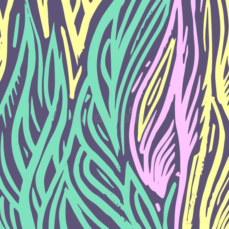 Vector Etnische abstracte kleurrijke bloemenachtergrond royalty-vrije stock foto
