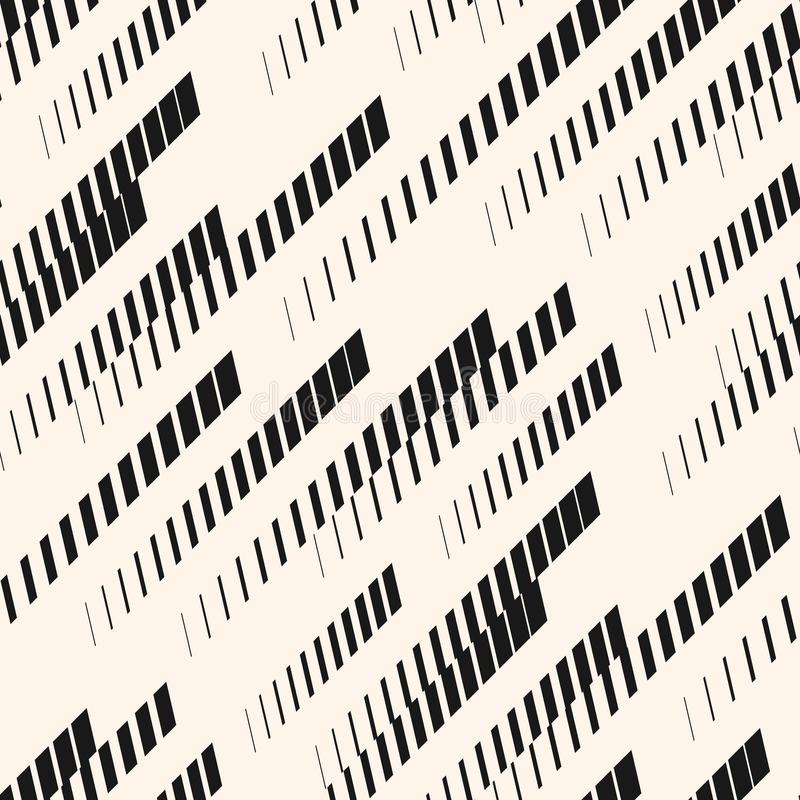 Vector extreem sport naadloos patroon Diagonale lijnen, sporen, halftone strepen Stedelijke Textuur vector illustratie