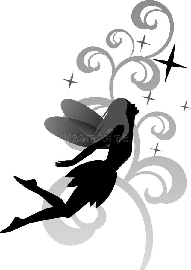 Vector fairy royalty free illustration