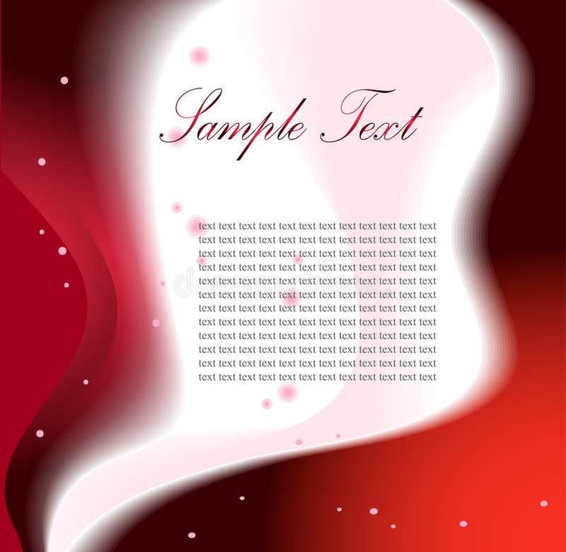 Vector fantasy design with place for your text royalty free illustration