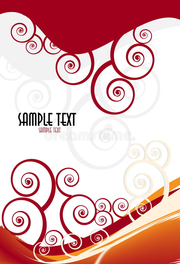 Free Vector Fantasy Design With Place For Your Text Stock Images - 8444684