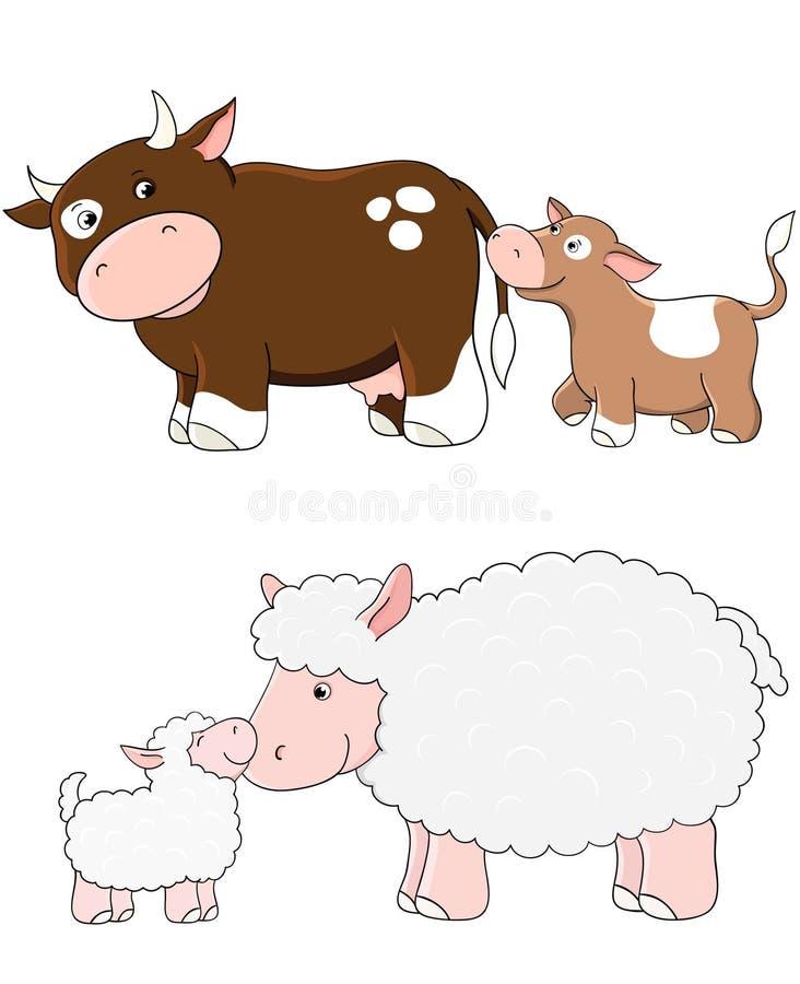 Download Vector farm animals stock vector. Illustration of animal - 17778736