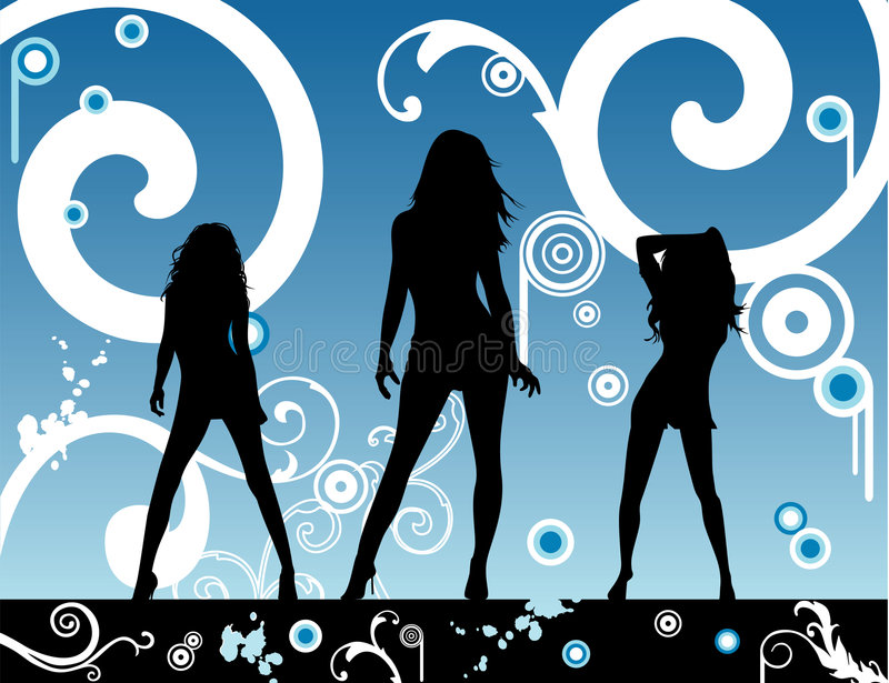 Download Vector Fashion Party Illustration Stock Vector - Image: 4982895