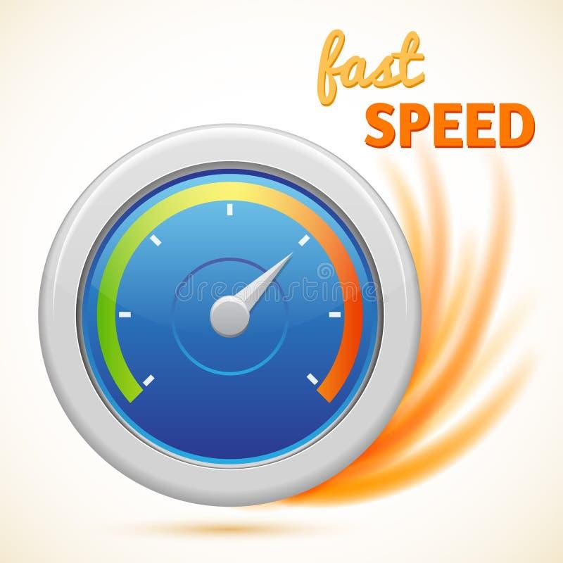Speed Racer Round Design Stock Vector. Illustration Of