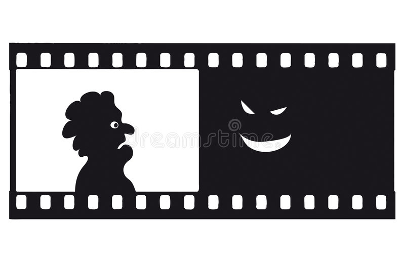 Download Vector Fear Filmstrip Stock Photo - Image: 5329700