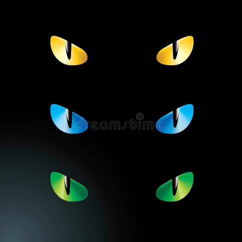 Free Vector Feline Eyes Royalty Free Stock Images - 15856799